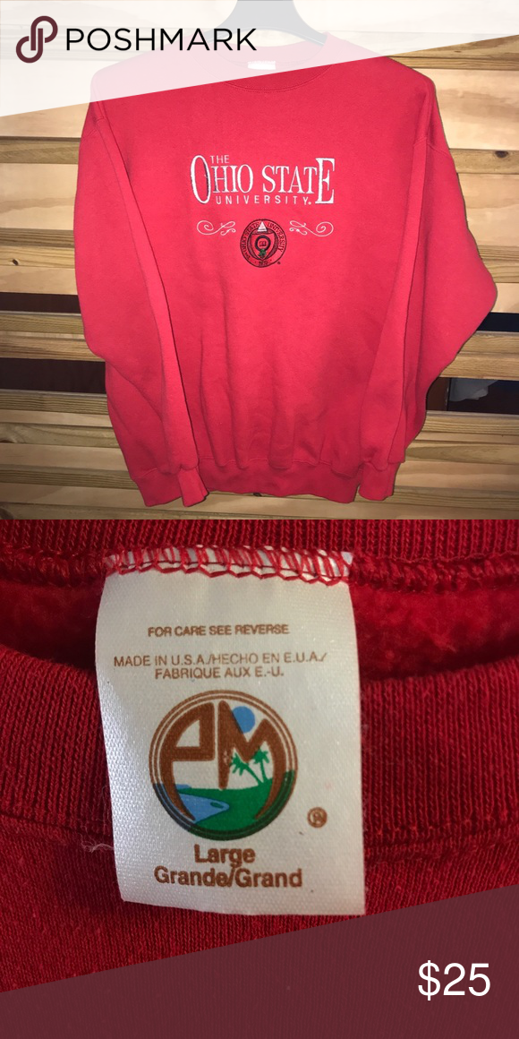 Vintage Osu Sweatshirt In 2018 My Posh Closet Pinterest