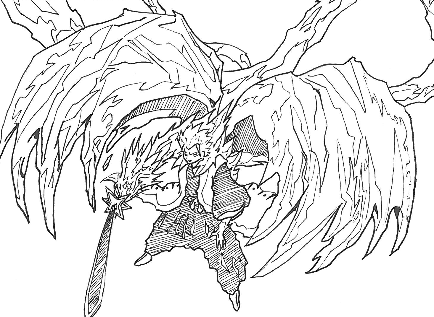Bleach Coloring Pages 95730 Anime Kids Pedia