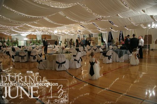 10 Elegant Cultural Hall Wedding Receptions Photos