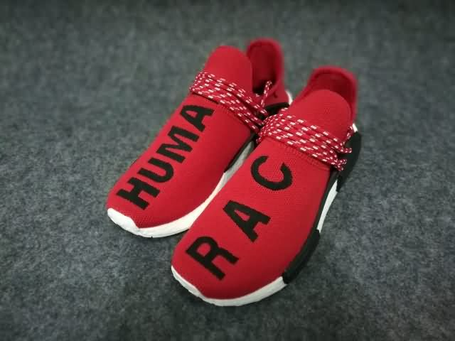 779786421ce9c Adidas Human Race NMD Unisex Red Black White shoes