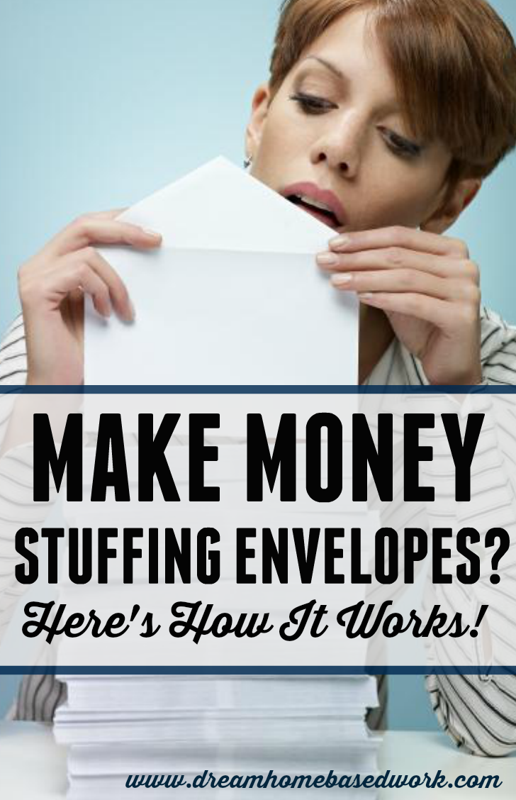 make real money from home stuffing envelopes