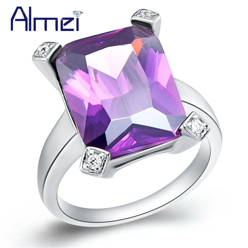 shipping products aneis nature cut rings emerald wedding jewellery rainbow silver wesupplies amethyst ring anel purple women sterling gemstone stone free