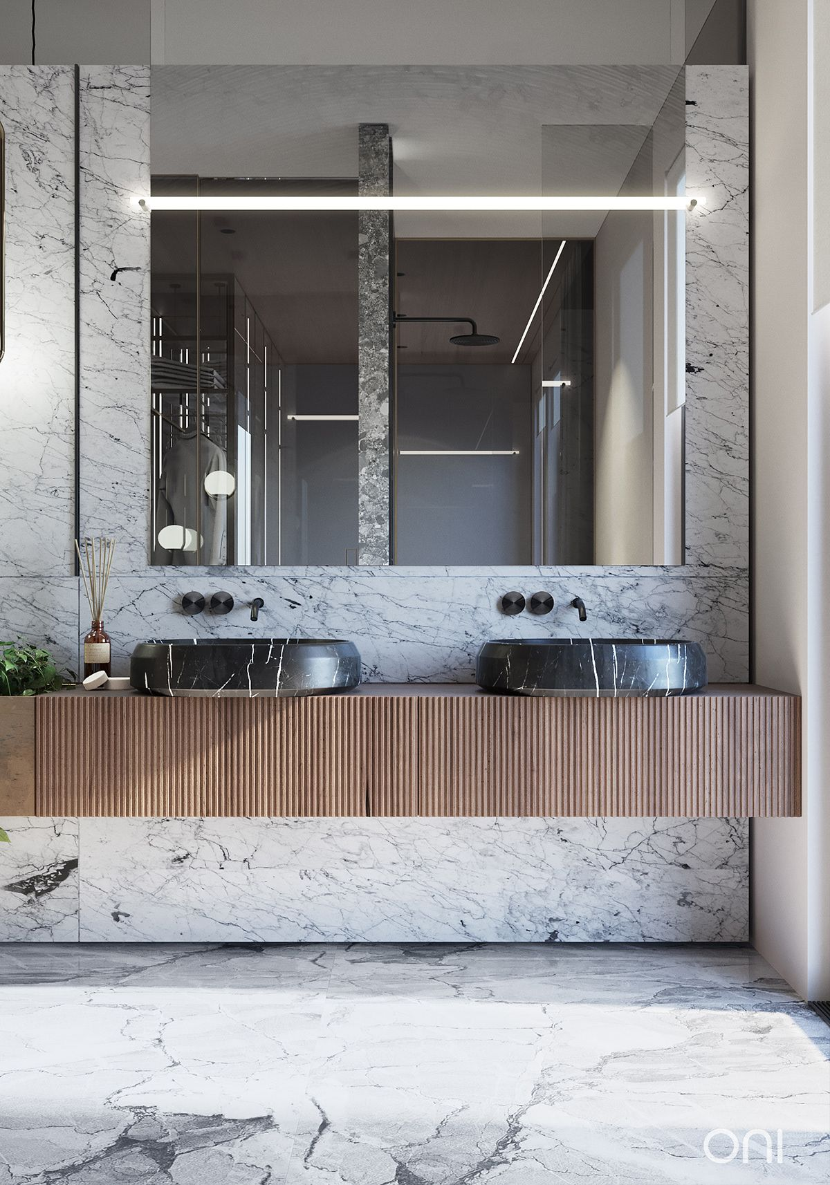 Residence In Seattle On Behance Bathroom Modern Bathroom Design