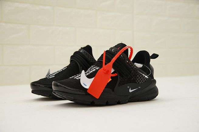 Cheap Priced Virgil Abloh OFF White x Nike Sock Dart 819686-059 Core Black  White d2021aa560