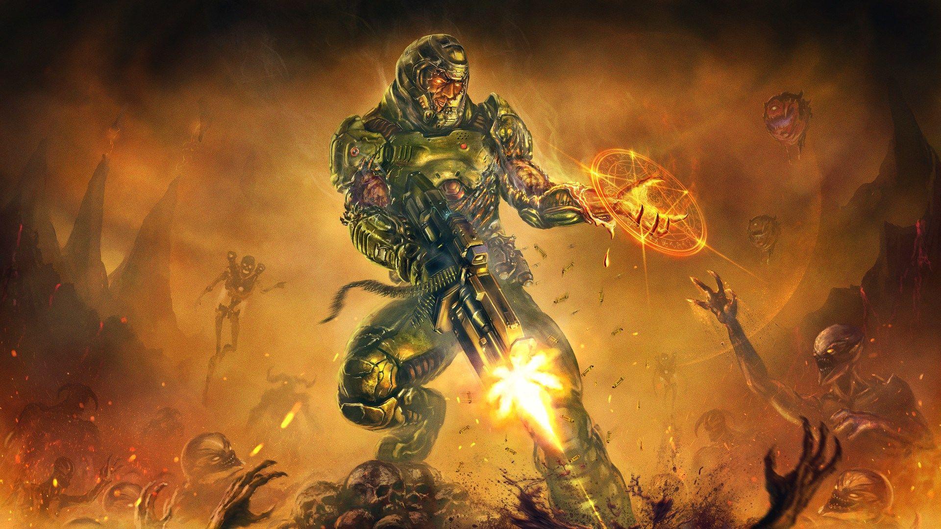 Doom 2016 Theme Background Images Goldwin Robin 2017 03 22