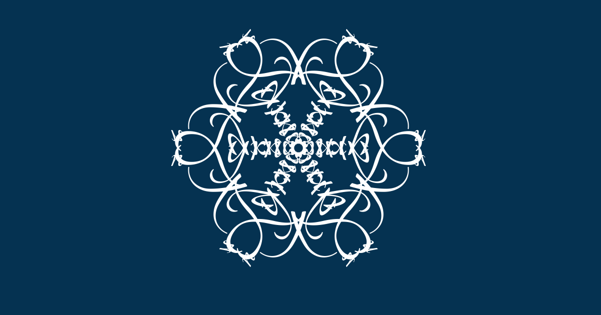 I've just created The snowflake of Tyrnan.  Join the snowstorm here, and make your own. http://thebookofeveryone.com/specials/make-your-snowflake/?p=bmFtZT1TaGFubm9uK1IuK0t1dXNpc3Rv&imageurl=http%3A%2F%2Fthebookofeveryone.com%2Fspecials%2Fmake-your-snowflake%2Fflakes%2FbmFtZT1TaGFubm9uK1IuK0t1dXNpc3Rv_600.png