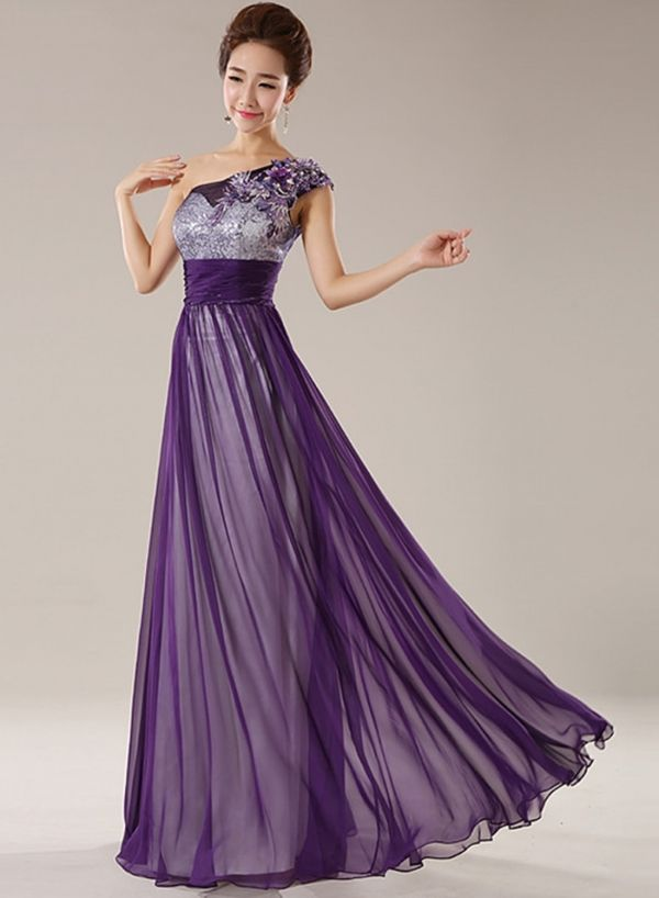 b181e144cfd Women s Floral Lace Paneled V Neck Prom Dress - ROAWE.COM