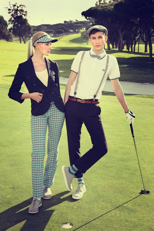 Portugal Golfing Fashion Editorial On Behance Golf OutfitVintage