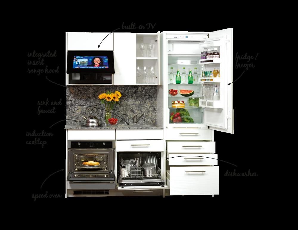 Kompakt Kitchen Home Petit Espace