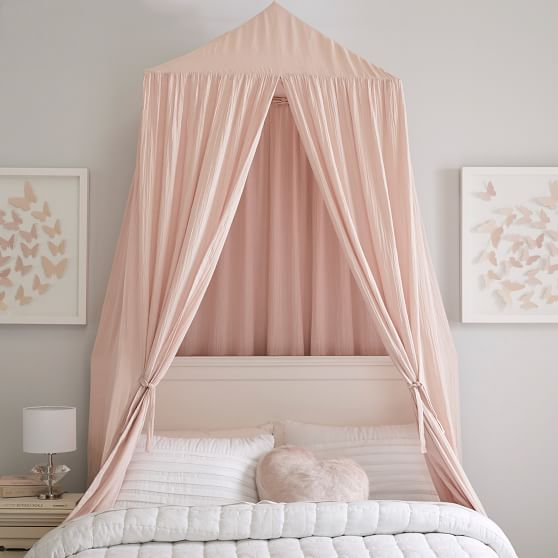 Oversized Fabric Canopy Canopy Bedroom Girl Beds Fabric Canopy