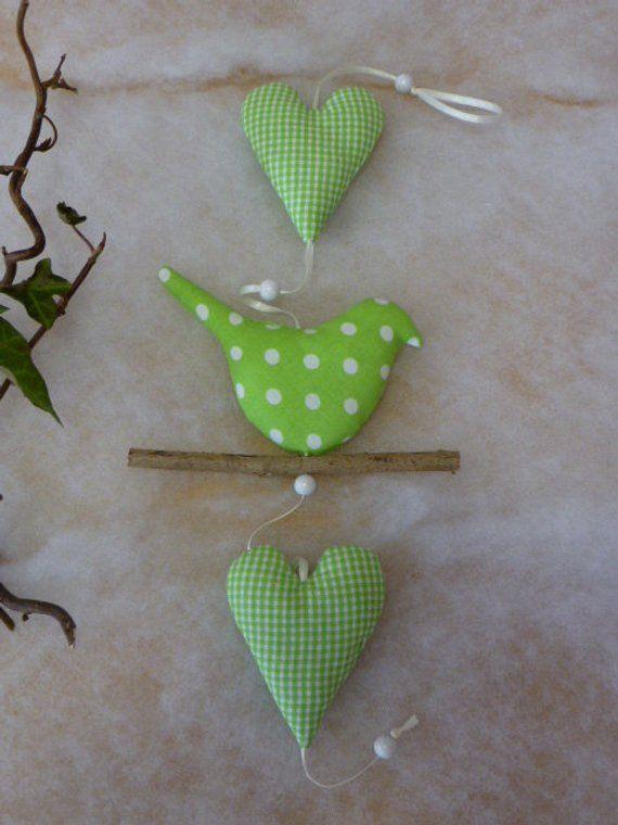 Artikel ähnlich niedlichen Girlande Dekoration Kette Geschenk Frühlingsvogel Herz auf Etsy