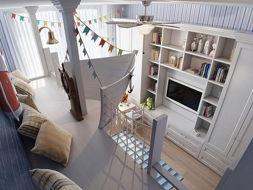 Latest cool creative children room ideas sailor boat For Your Home - Elegant toddler room ideas Top Design