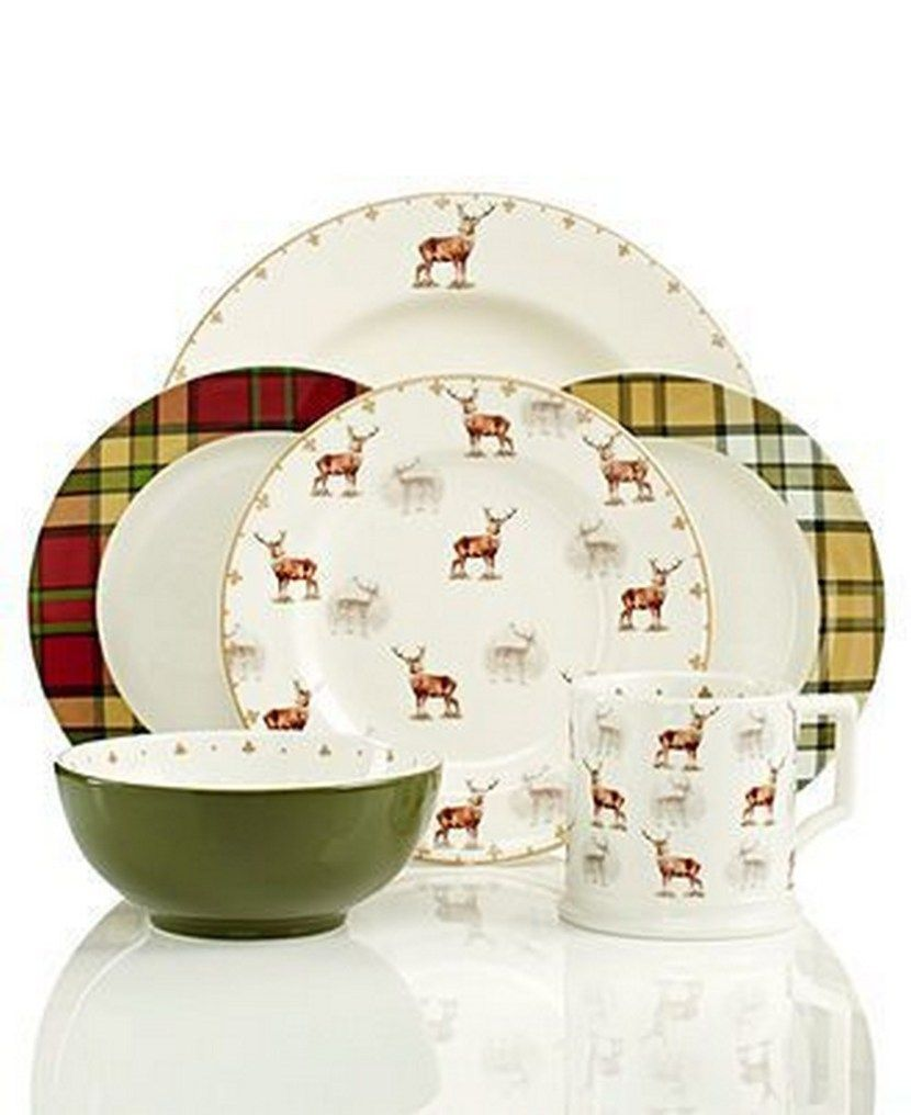 57 Beautiful Christmas Dinnerware Sets | Dinnerware, Christmas ...