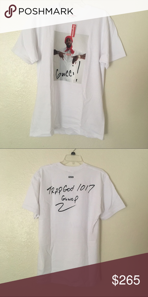 3b25fd7a9 Supreme x Gucci Mane Tee DSWT. Sz L. (Only looking for heat trades) Supreme  Shirts Tees - Short Sleeve
