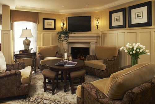 Corner fireplace with tv this is being categorized - Living room layout fireplace and tv ...