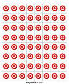 graphic regarding Printable Bullseye titled Printable Emphasis 64 Very low Bullseye Gun Capturing Wide range deer