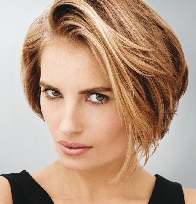 Coupe carrée boule Cheveux Short hair styles, Hair