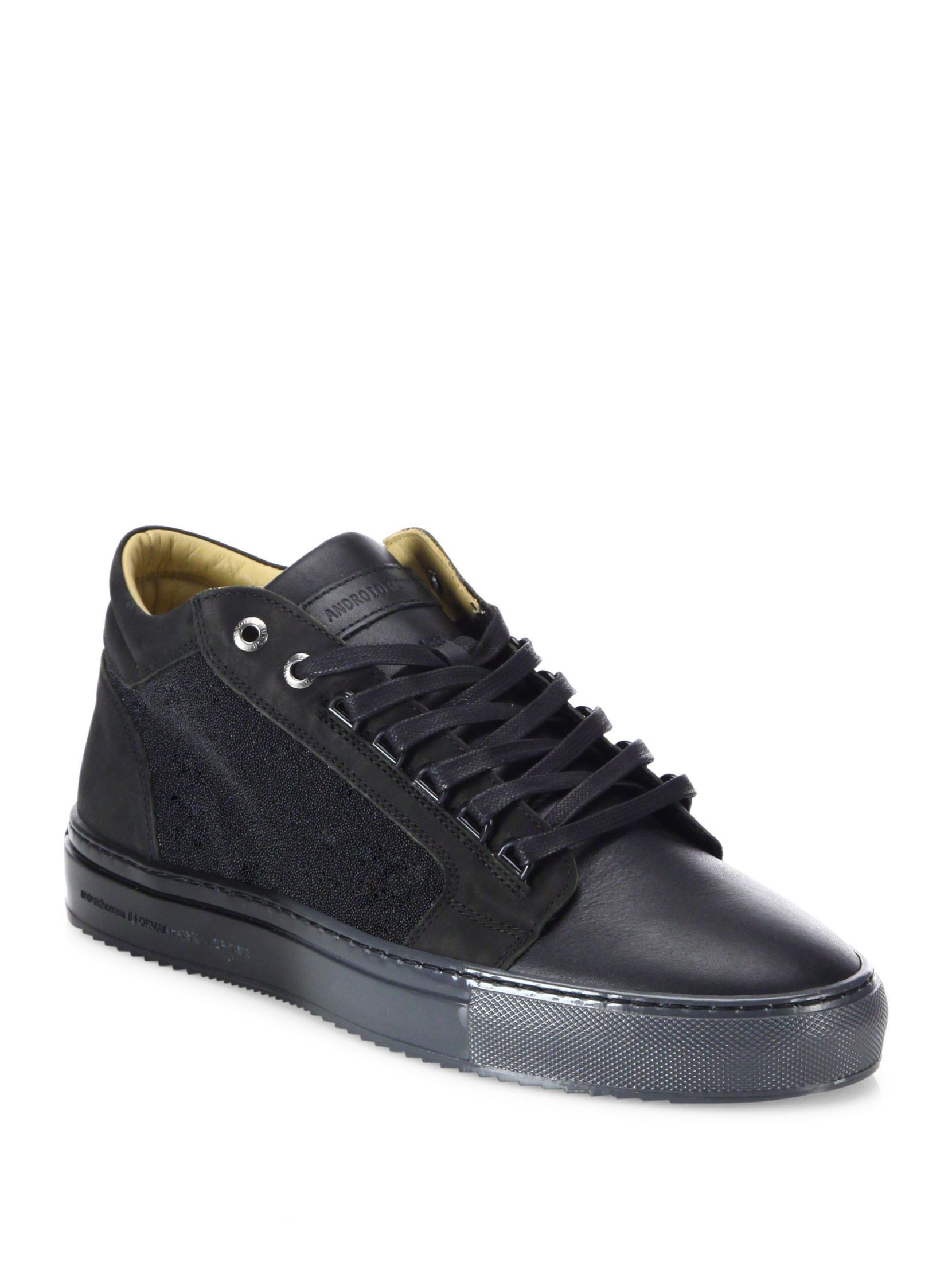 Homme SneakersShoes Top Android Nubuck Caviar Margom Mid KJc13uTFl