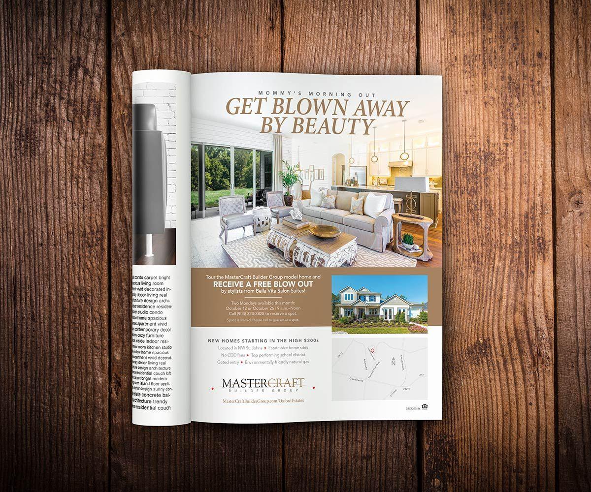MasterCraft, Magazine Ad Design, Print Collateral