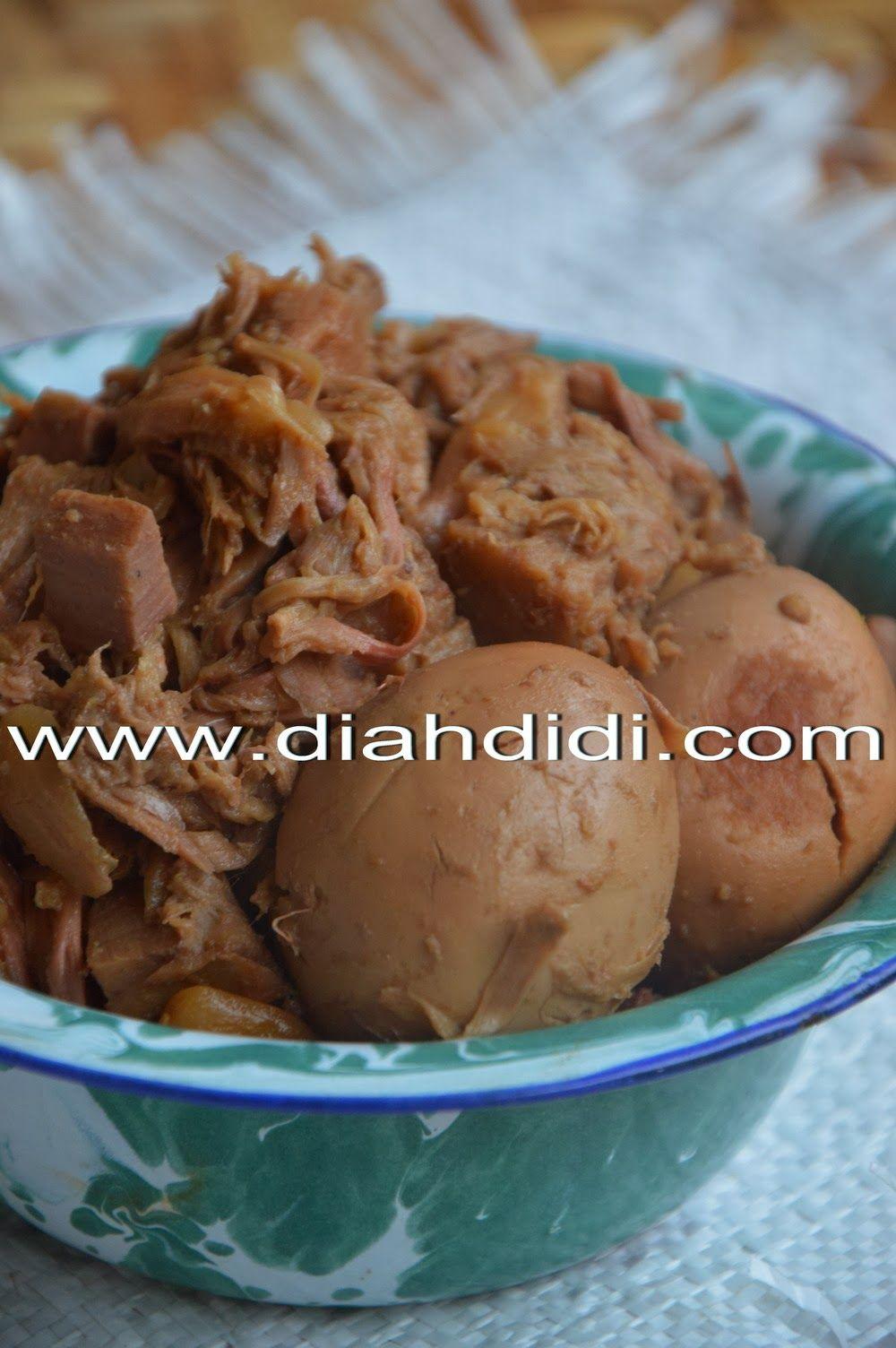 Diah Didi S Kitchen Gudeg Koyor Goreng Khas Semarangan Makanan Resep Masakan Malaysia Resep