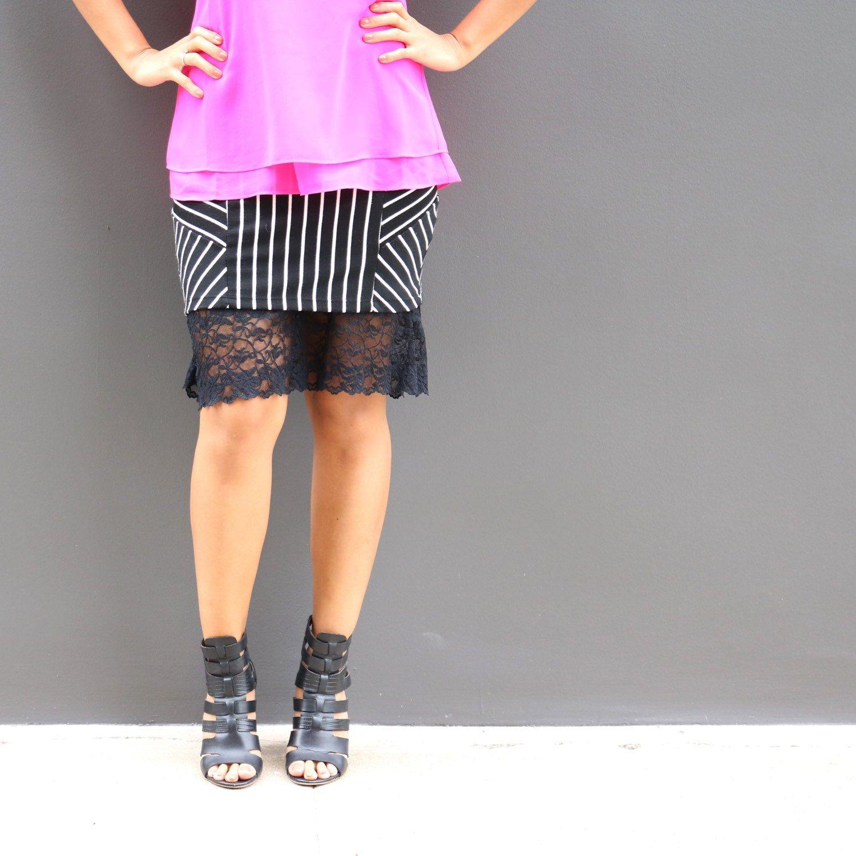 cfb76f204461 Basic Black Lace Dress Extender Slip | kolouri | Lace dress extender ...
