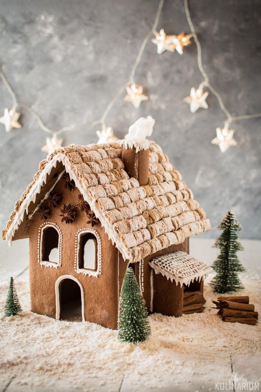 {WERBUNG} Ein Lebkuchenhaus Weihnachtsbäckerei - Kleines Kulinarium #recettepaindépices