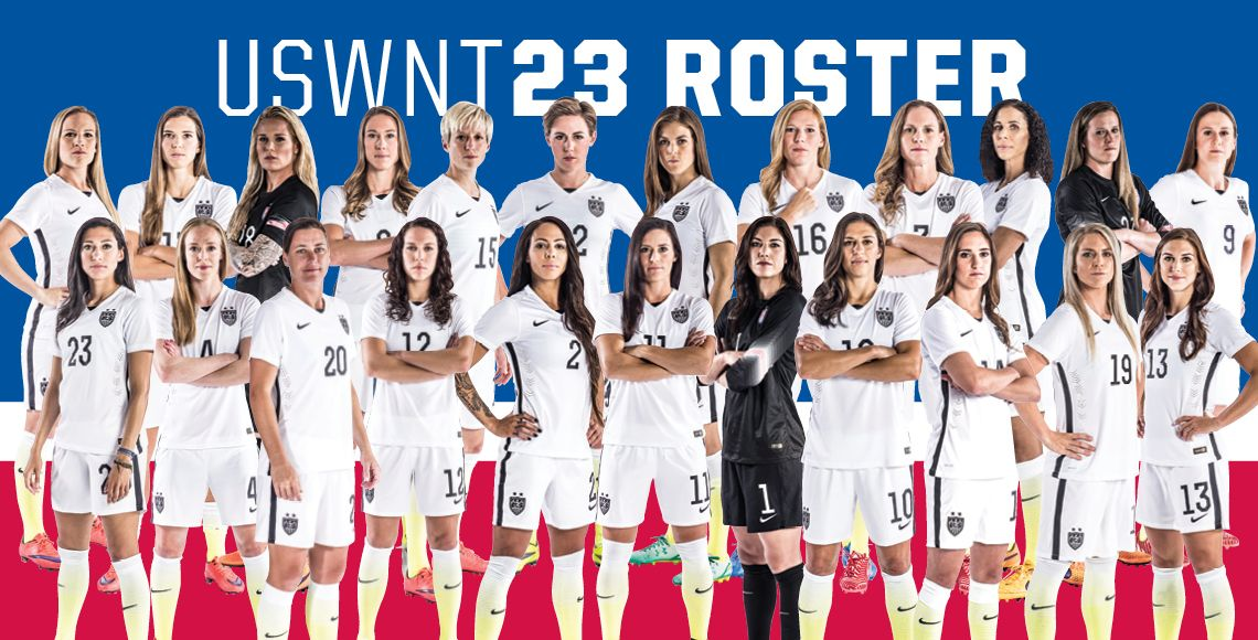 2015 World Cup Champs Uswnt Playlikeagirl Soccer Female Soccer Players Usa Soccer Women