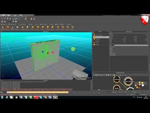 Realflow -Урок-5 разрушение объектов - YouTube