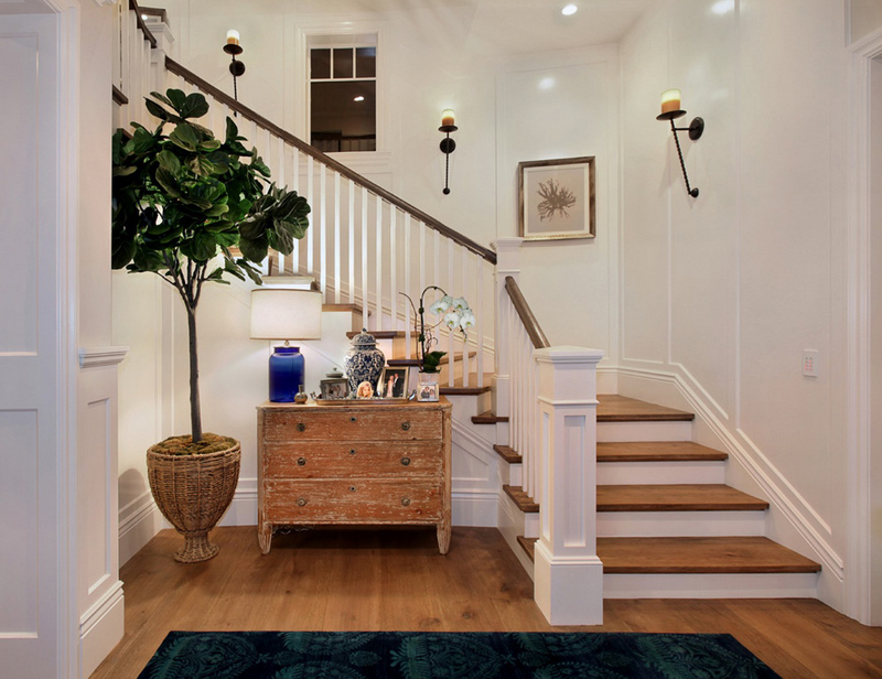 Escaleras feng shui cl sico las escaleras interiores y - Escaleras interiores casas ...
