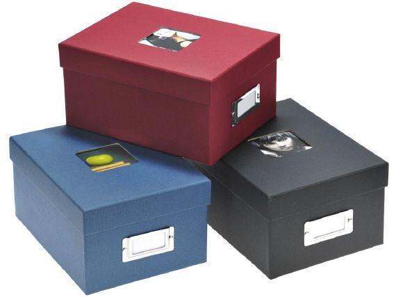 Fotoboxen schwarz 4,95 EUR