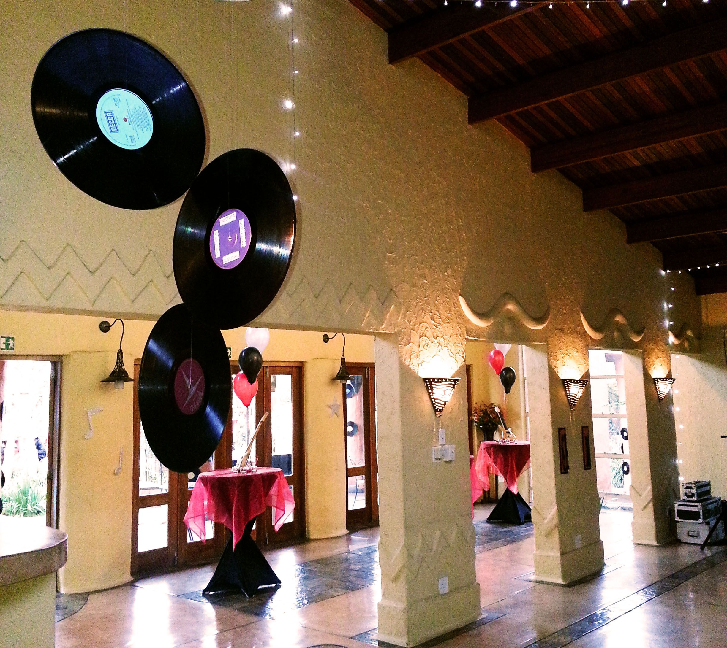 Music Themed Decor For A 21st Party At Cabanga Music