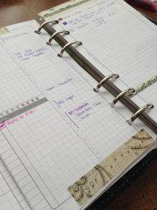 Week 47 After Shot - Music  #filofax #daytimer #franklincovey #diyfish #lifemapping #planner #organization