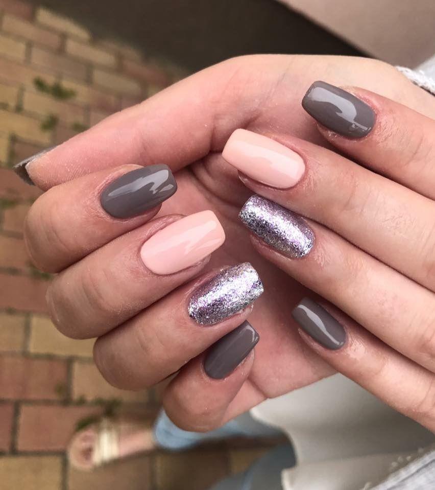Autumn nails | Köröm design | Pinterest | Autumn nails, Hair makeup ...