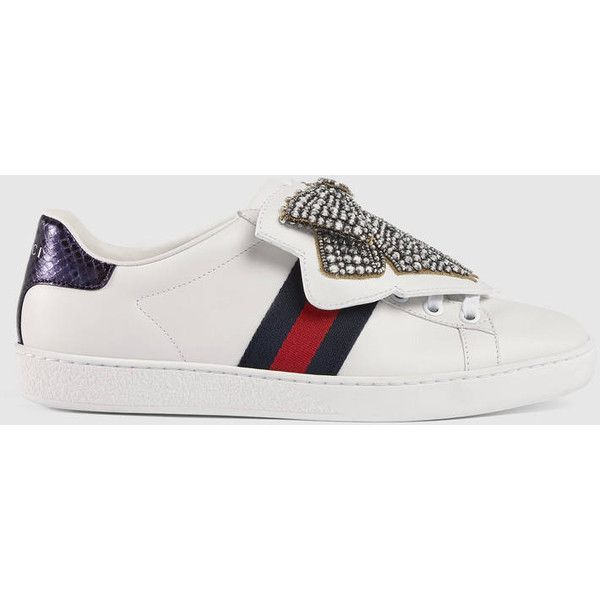 Gucci Ace Sneaker With Removable