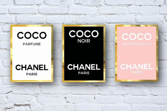 Chanel Perfume Logo Coco Chanel Perfume Logos Digital Download