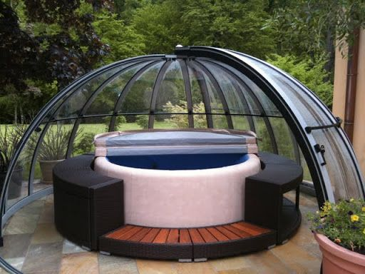 Photo of Softub whirlpool – whirlpools and garden pavilions