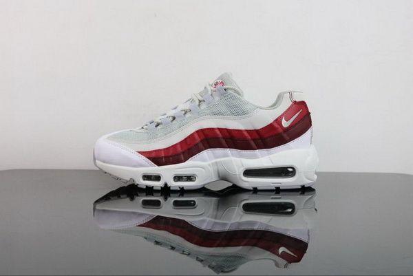 bd8415cb974 Mens Nike Air Max 95 Essential White Wolf Grey-Pure Platinum-Team ...