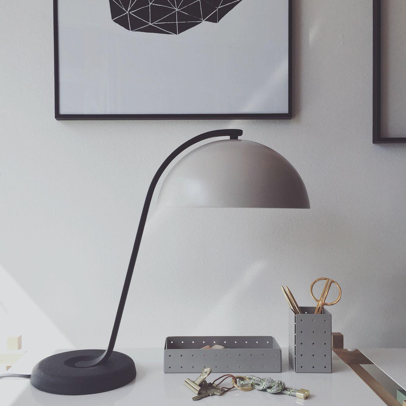Stunning Cloche lamp Hay Smaragd print Lisa Leierth kvartinterior se