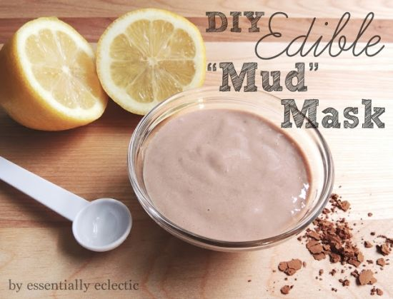 Chocolate Mud Mask... OH YES!!! 25 Relaxing DIY Spa Night Ideas