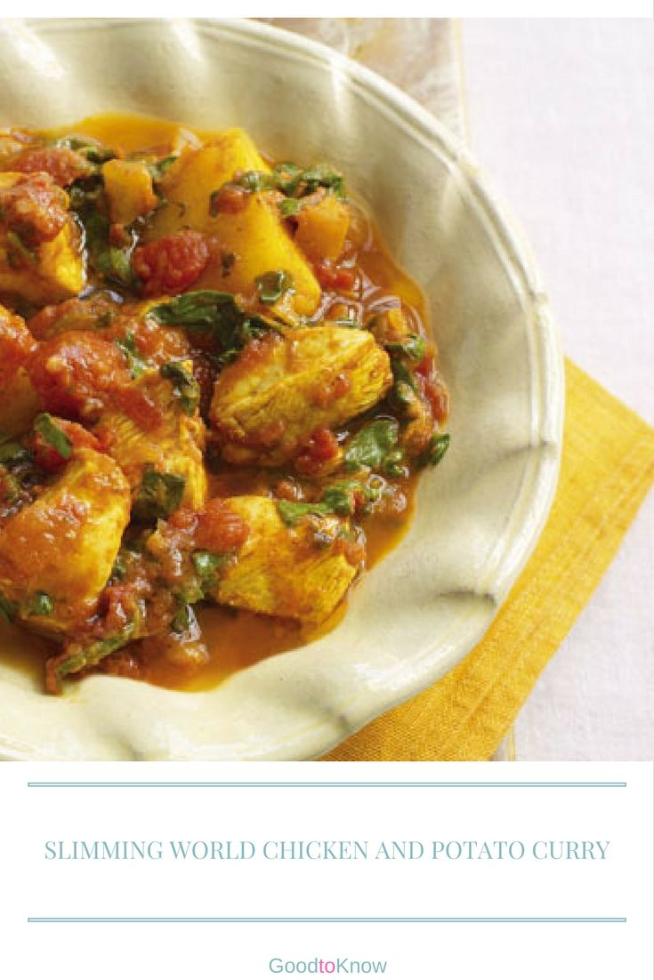Slimming Worlds Chicken And Potato Curry