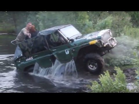 Funny Off Road Fails 4x4 Crazy Russians Extreme Driving In Mud Bog