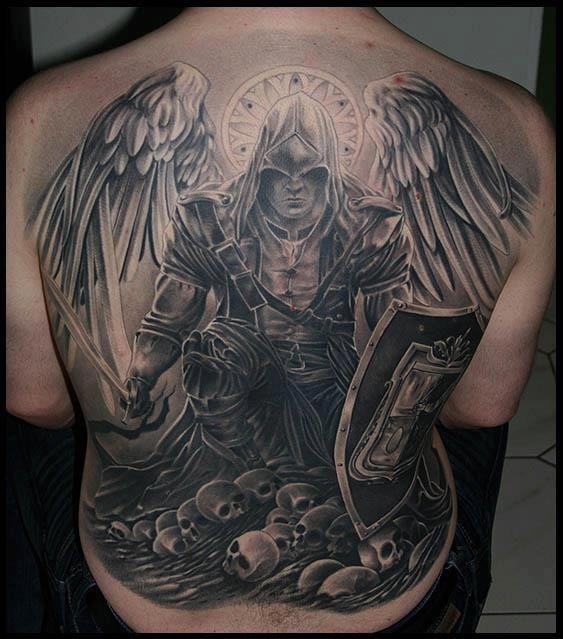 Tattoo Ange De La Guerre Tatouages Tatouage Beau Tatouage Et