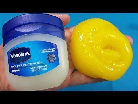 Diy Vaseline Slime How To Make Slime With Vaseline Youtube