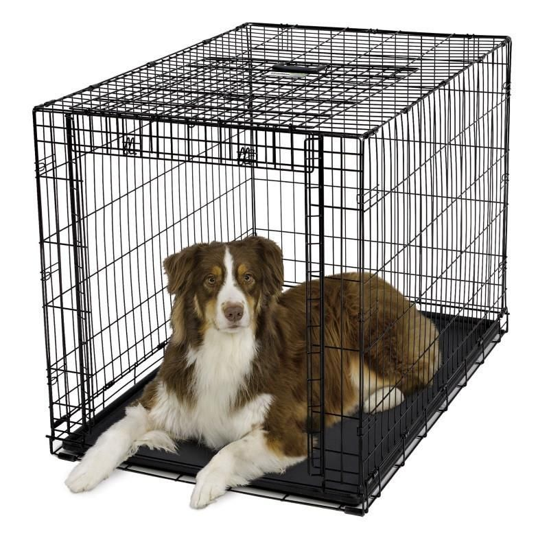 Need Help With Finding The Right Size See Our Dog Crate Size Breed Chart Product Description Intuitive Innovation From Midwe Dog Crate Dog Playpen Dog Cages