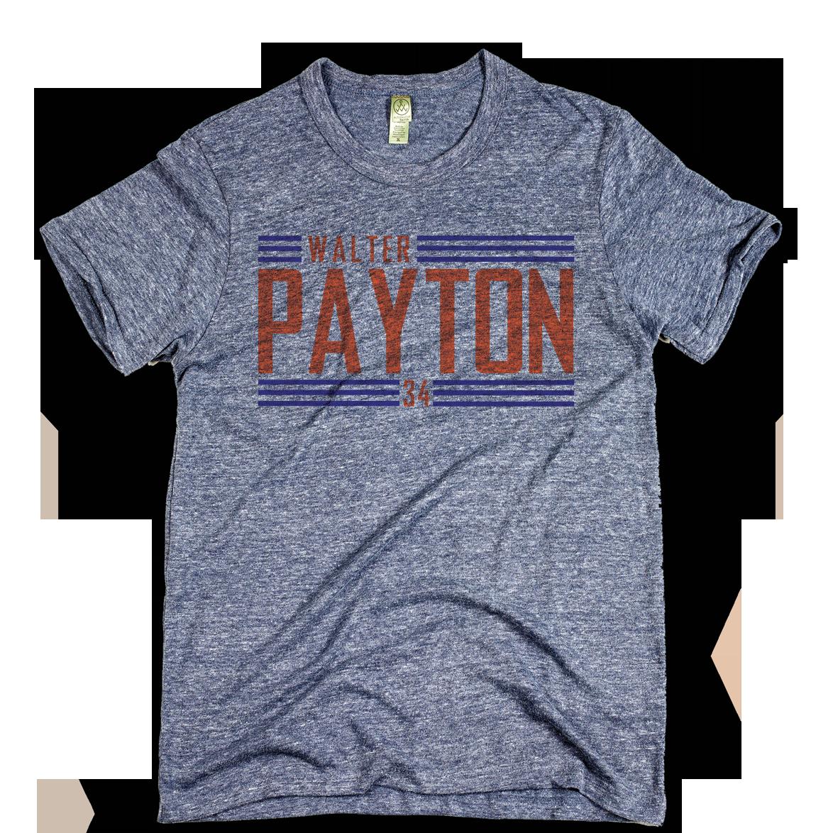 Walter Payton Big Orange Font