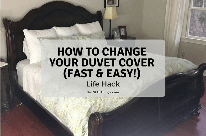 How to Change a Duvet Cover (Life Hack!) | Duvet covers, Life