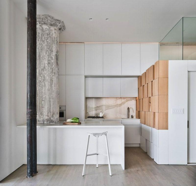Doehler Loft Apartment, Brooklyn, NY By SABO Project. Luxury Kitchen DesignLuxury  ...