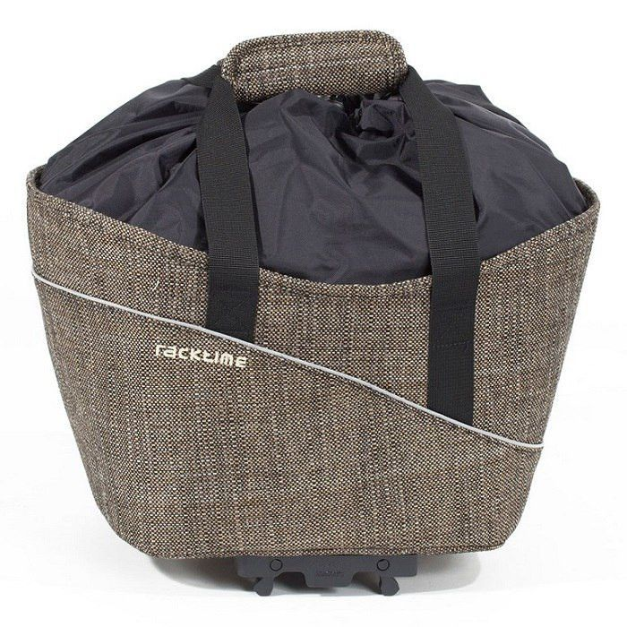 Racktime Shop-It Rack Top Bag, Brown