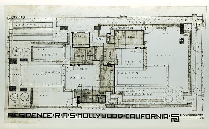 Schindler House Plan Google Search Schindler House Architecture My House Plans