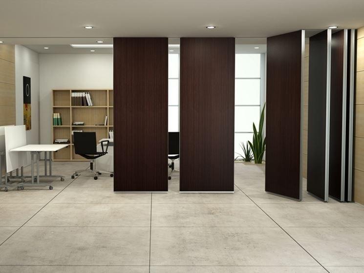 Pareti Divisorie In Legno Per Interni Office Wall Commercial